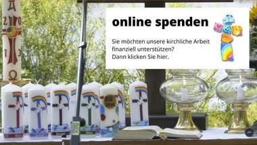 Spenden online