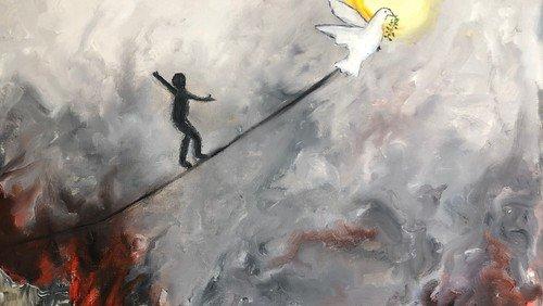 """Vernissage: Ghazwan Assaf """"Flucht und Hoffnung"""""""