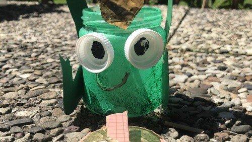 Gälserner Frosch | Windlicht und Spielspaß