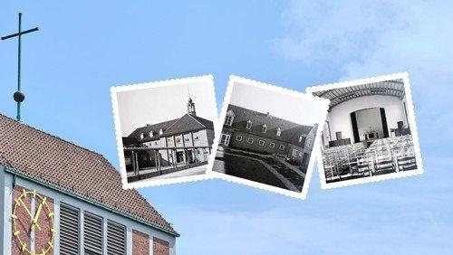 Gemeindehaus, Pfarrhäuser und Kindergarten