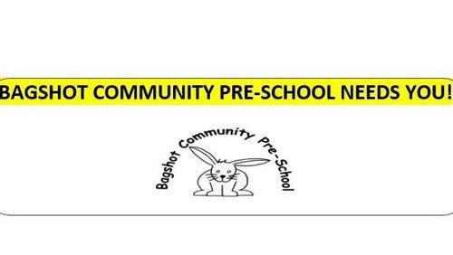 Bagshot Community Preschool needs you