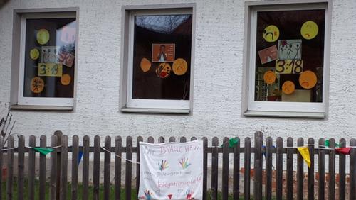 Protestaktion im St. Andreas –Kinderland