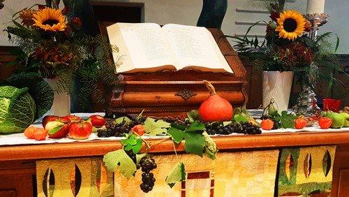 Erntedank-Gottesdienst für Familien