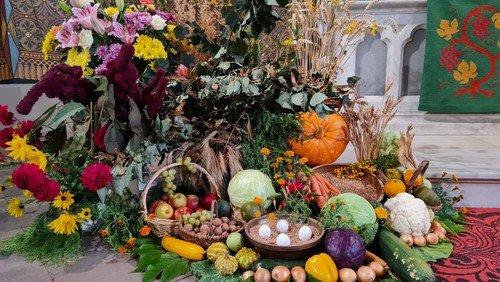 Rückblick Erntedankfest im Pfarrbereich