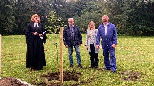 Ökologisch, solidarisch, nachhaltig - Eine neue Streuobstwiese für Munster