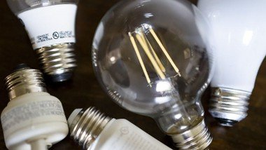 Spare light bulbs and books - please help yourself