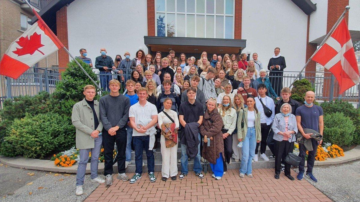 55 high school students from Silkeborg visit Toronto