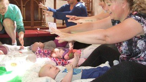 Babysalmesang  vinter 2022