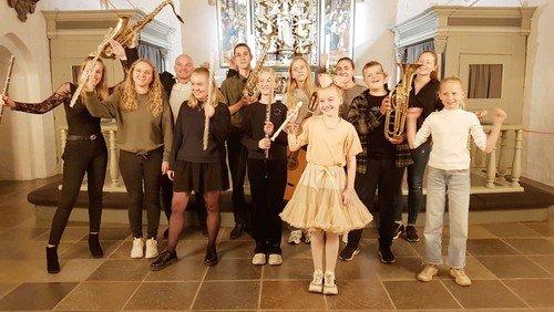 Flot musikskolekoncert i kirken
