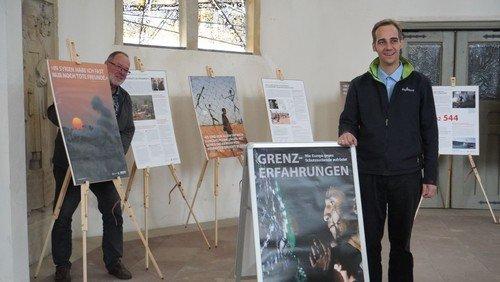 Ortstermin in Oschersleben: Ausstellung in St.-Nicolai-Kirche eröffnet