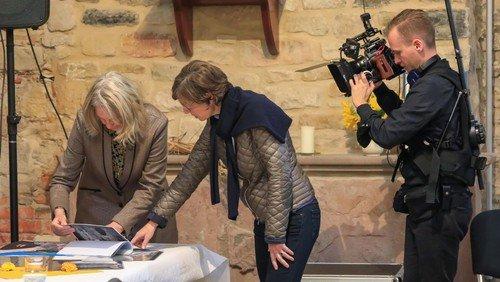 KiBa dokumentiert mit Dreharbeiten den Abschluss der Sanierungsarbeiten an der St.-Laurentius-Kirche von Seehausen