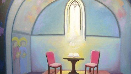 """""""Alte Kapelle"""" im neuen Büro"""