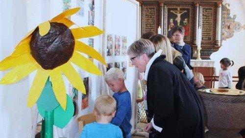 Børnekunst i Sct. Hans kirke