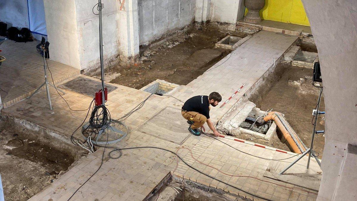 Omvisning i udgravning af Strøby Kirke