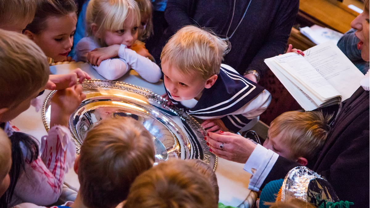 Drop-in-dåb i Lindevang Kirke