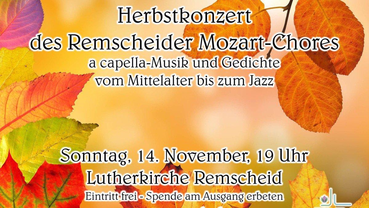 Herbstkonzert des Remscheider Mozart-Chores