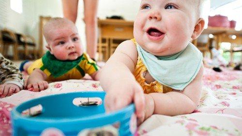 Babysalmesang 6-12 mdr.