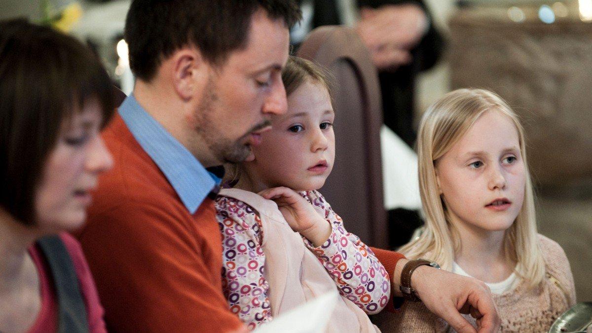 Pizzagudstjeneste i Rørdal Kirke