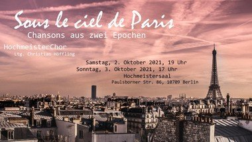 Sous le ciel de Paris - Chorkonzert