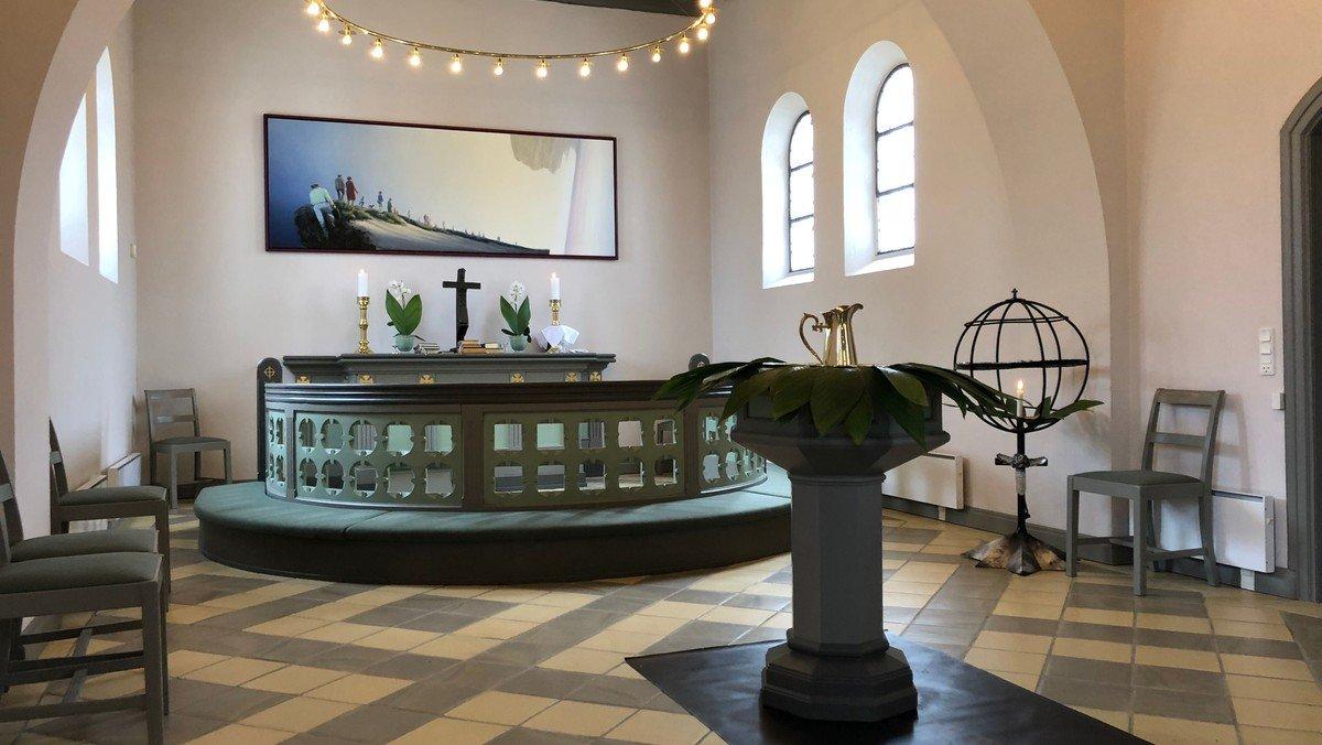 Gudstjeneste kl. 10.30 i Gudumholm Kirke