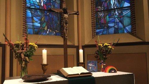 Präsentations-Gottesdienst für die Pfarrstelle an Erntedank in der Magdalenenkirche