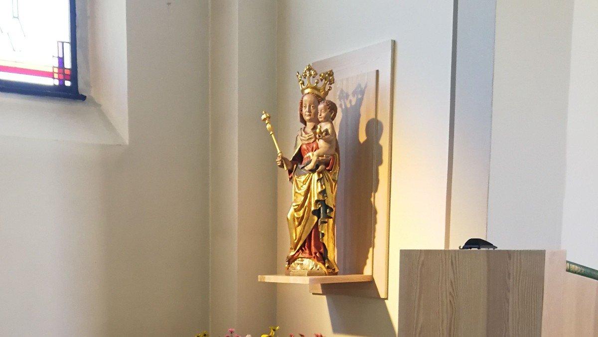 Rosenkranzgebet in St. Otto, Zinnowitz