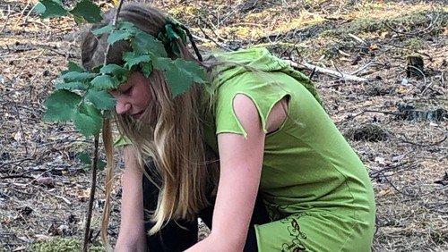 Übernachtung im Waldparadis und Tag im Tempel-Wald