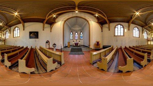 """""""Kirchenraum und Theologie"""": Der Kirchenraum, seine Sprache und was Menschen darin wahrnehmen"""