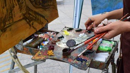 Malerieftermiddag