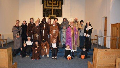 Halloween - åben kirke