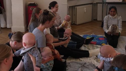Babysalmesang i Sognegården