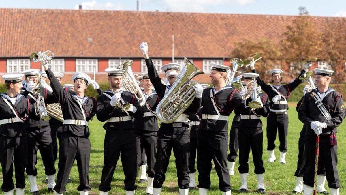 Fyraftenskoncert med Søværnets Tamburkorps