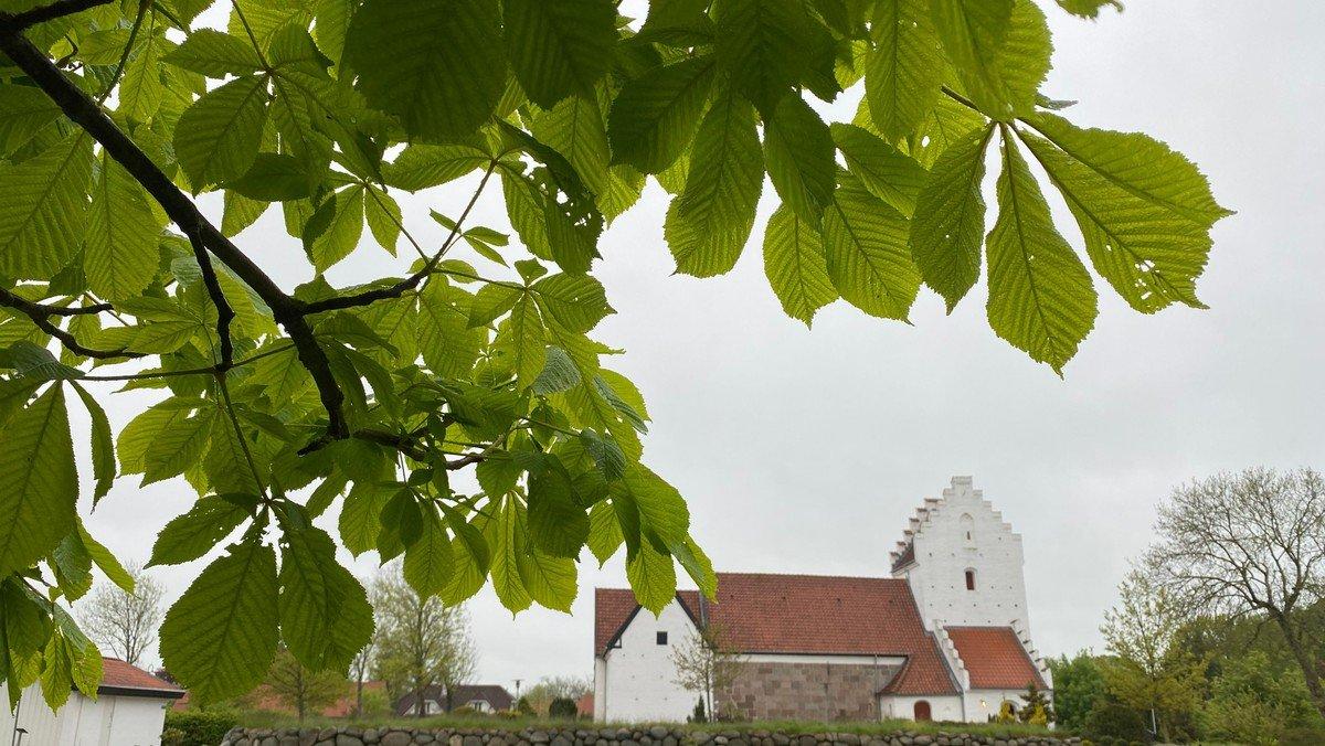 Gudstjeneste i Sdr. Tranders Kirke v. Mette Tved