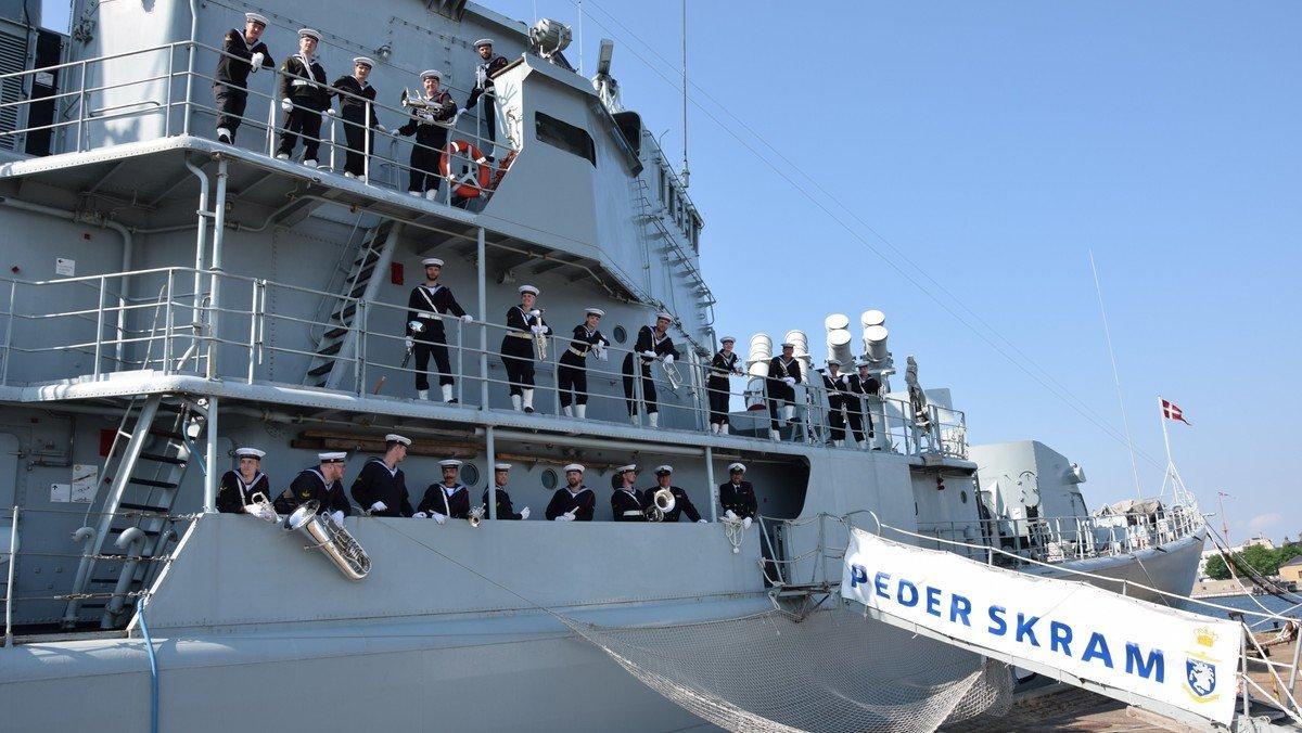 Koncert med Søværnets Tamburkorps
