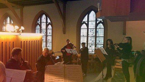 Musikalischer Adventsgottesdienst  in Waidmannslust