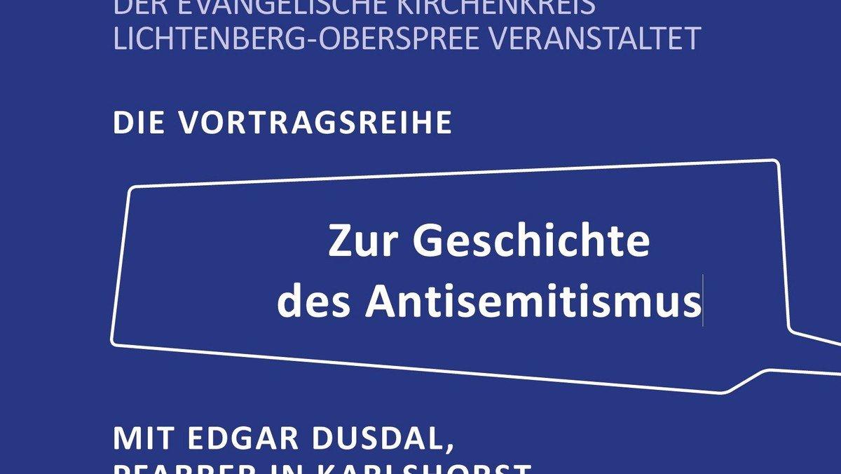 """Zur Geschichte des Antisemitismus - """"Joseph Süß Oppenheimer, genannt Jud Süß. Antisemitismus im 18. Jahrhundert"""