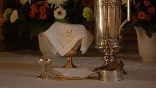 Gudstjeneste, Mariæ bebudelse ved Mads Jakob Jakobsen