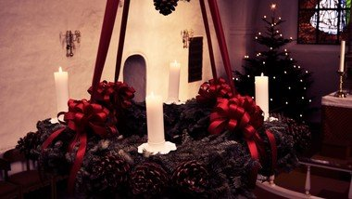 Familiegudstjeneste,  juleaften ved Merete Lei