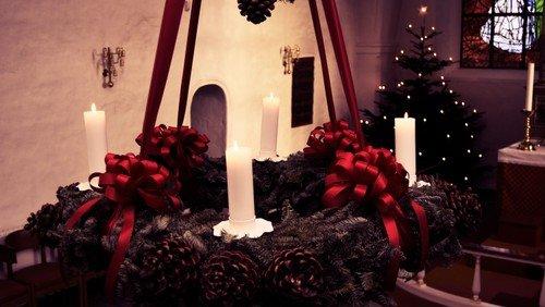 Gudstjeneste,  juleaften ved Anders Raahauge