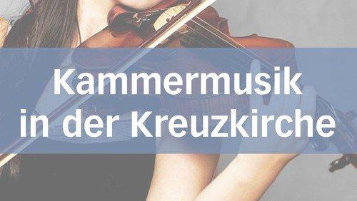 Kammermusik in der Kreuzkirche: Johann Sebastian Bachs Cellosuiten