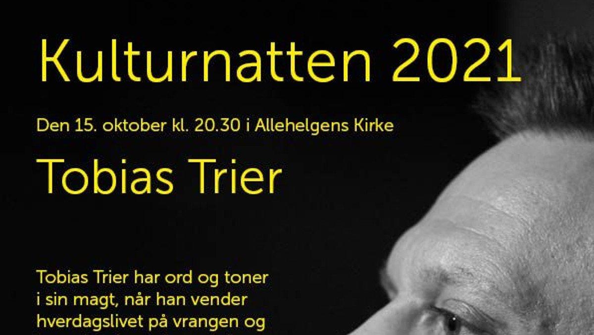 Kulturnatten - Koncert med Tobias Trier