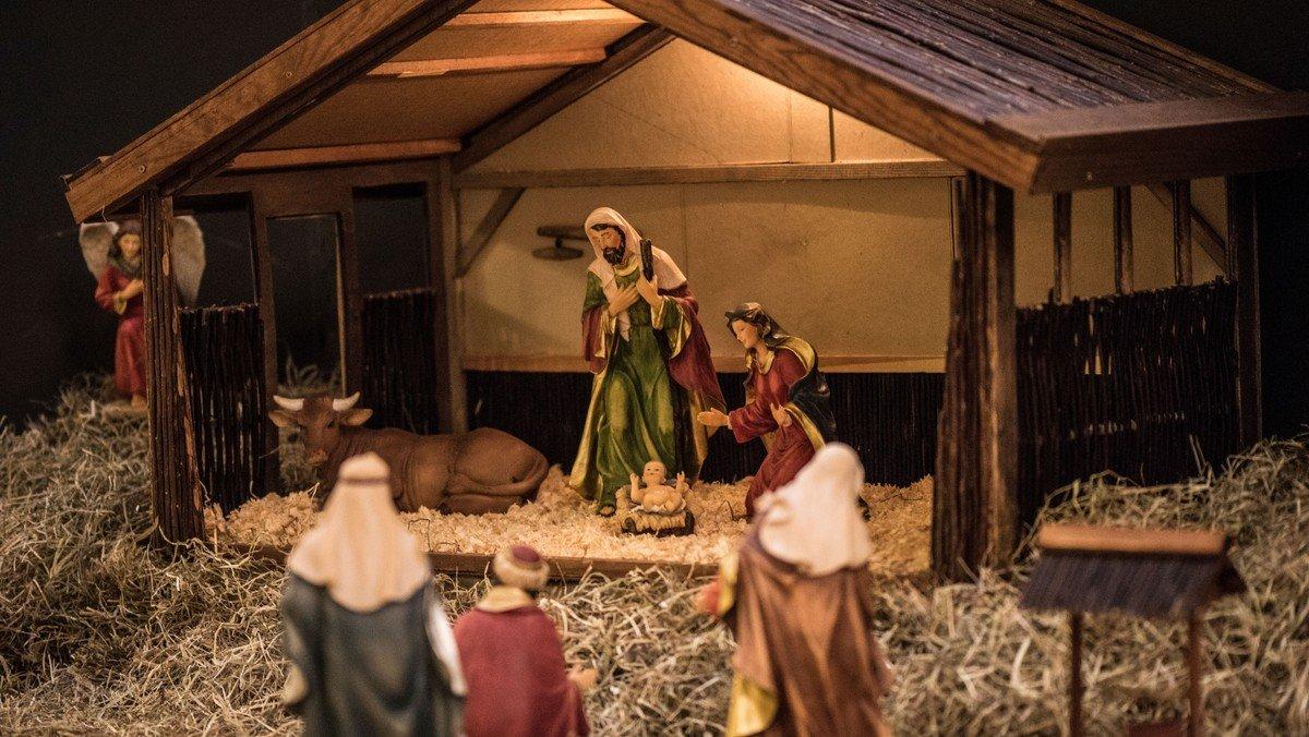 Julegudstjeneste i Slagslunde Kirke v. Christian Gottlieb
