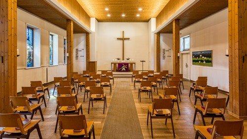 Gottesdienst in Matthias-Claudius