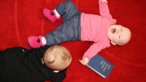 Babysalmesang i Vejleå Kirke