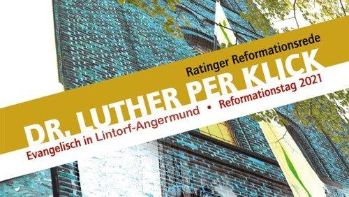 Reformationsmahl 2.0, Gottesdienst mit Vortrag und Essen