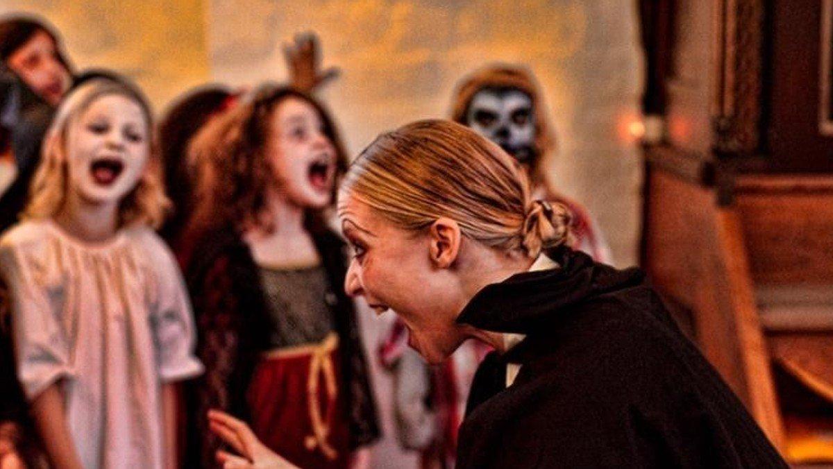 Halloween i Torpen Kapel, Humlebæk