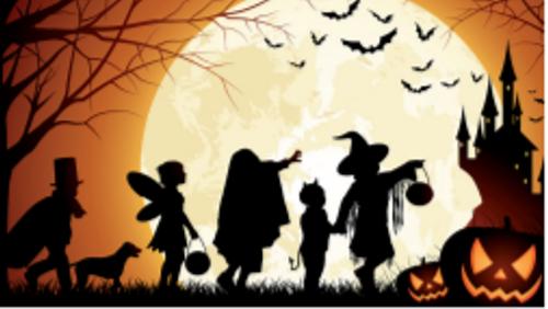 Halloween for de mindste i Holtug Kirke