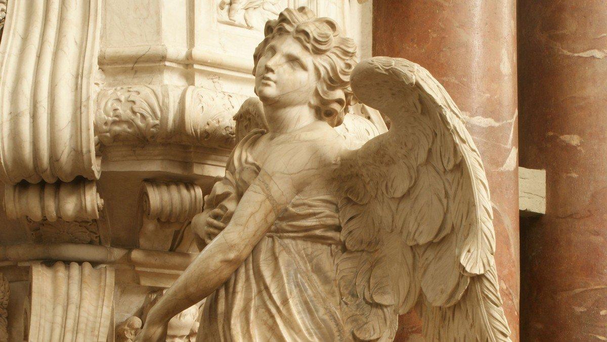 Wo dein sanfter Flügel weilt – Auf den Spuren der Engel in Berlins Mitte