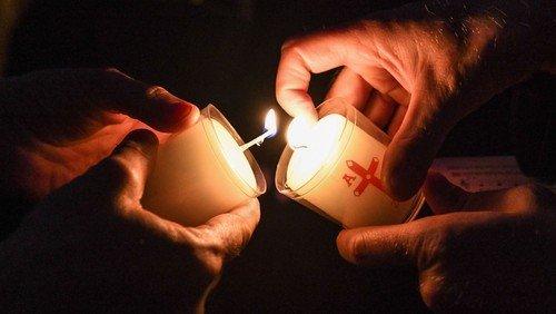 Lichterandacht zum Weltgedenktag für verstorbene Kinder
