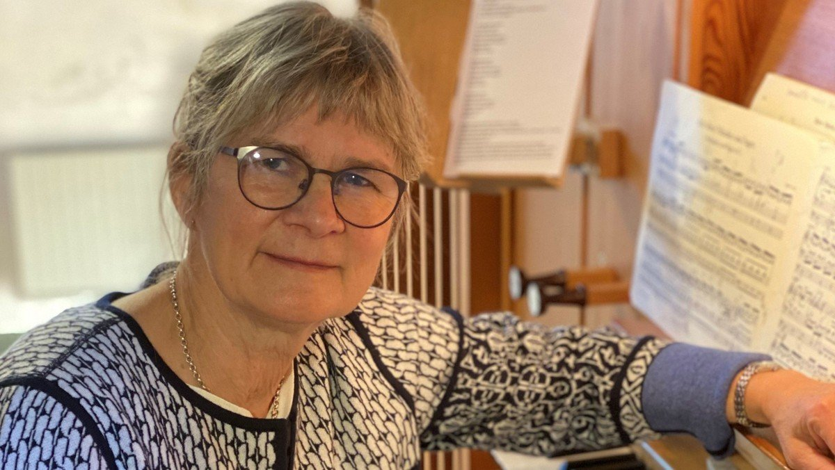 Afsked med Hanne Albinus efter gudstjenesten